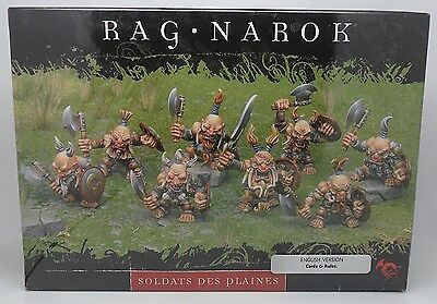 Rackham Confrontation RAG NAROK Metal Tir Na Bor Dwarf SOLDIERS OF THE PLAINS