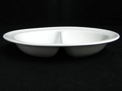 MADDOCK HOTEL WARE- 23.5cm TWO SECTION DISH