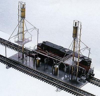 Micron Art 1028 2-Track Diesel Locomotive Service Facility Etched-Metal Kit