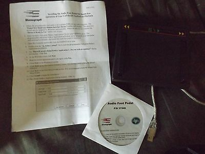 Case CATalyst Scoping Editing Software Version 17 with Hotkey Audio Foot Pedal