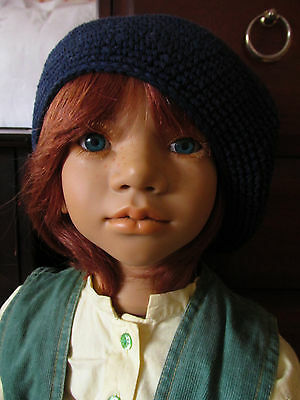 'Melvin' by Annette Himstedt 1995 boy doll Gorgeous redhead!!