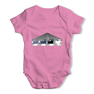 Twisted Envy Tabby Road Baby Unisex Funny Baby Grow Bodysuit