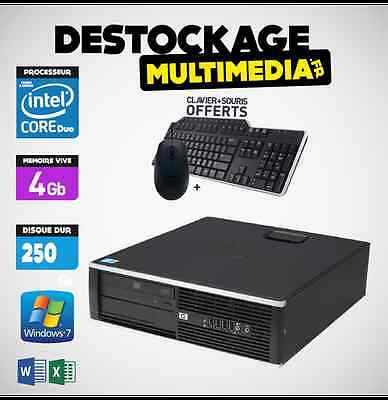 Hp Elite Dc 6000 Sff Core 2 Duo E7500 2.93 Ghz 4Gb 250Go Dvdrw Lightscribe Win 7