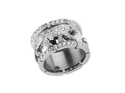 Ring Cartier Panthere 18kt Weißgold Diamond 2ct