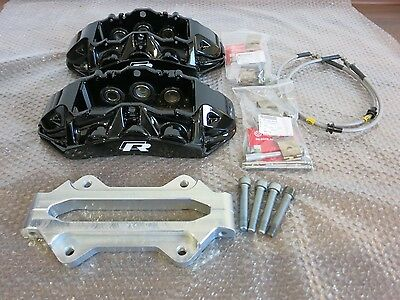 Audi RS6 Brake Calipers Brembo 6 pot 4F0615107 for GOLF mk5/6/7 with brackets