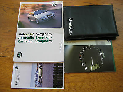 Skoda Octavia Owners Handbook/Manual and Wallet 99-04