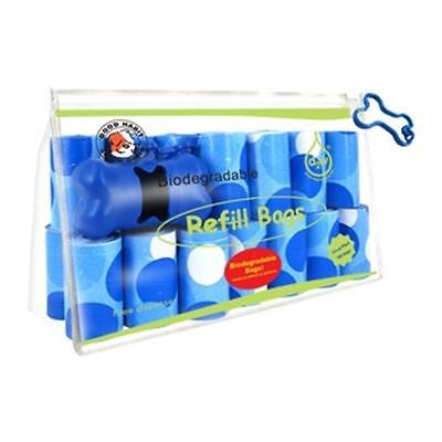 Best Pet Supplies BC-3601 Blue Circle Biodégradable Recharges Sacs Sacs 360