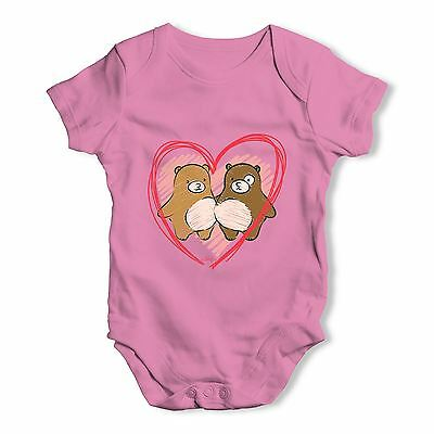 I Love You Beary Much Love Bears Baby Unisex Funny Baby Grow Bodysuit