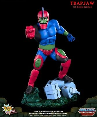 Trap Jaw MotU Statue Pop Culture Shock limitiert und sold out