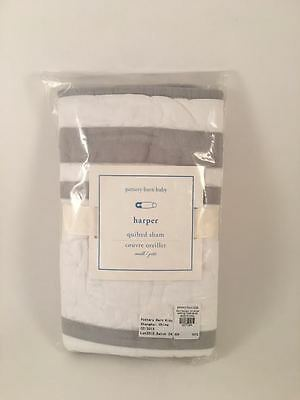 Pottery Barn Kids Harper Small Deco Toddler Nursery Quilted Sham NEW