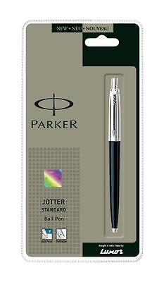 Parker Jotter Standard CT (Black) Ball Pen Blue Ink Original Brand New Sealed