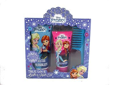 Disney Frozen True Love 3pc Bath & Hair kids girl's christmas birthday gift set