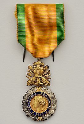 France: French Military Medal 1914  Silver Gilt