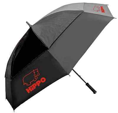 """Large 61"""" Golf Umbrella Windproof Sports Racing Double Canopy Vent Push Button"""