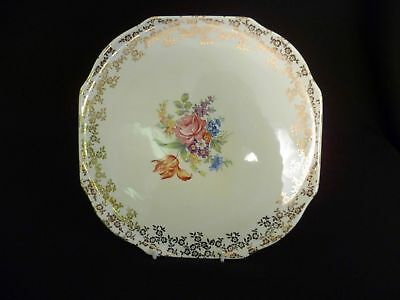 Lord Nelson Ware Floral 28cm Gateau Plate (uw)