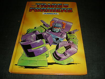 VINTAGE The Transformers Annual UK G1 1989