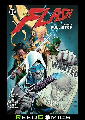 FLASH VOLUME 9 FULL STOP HARDCOVER New Hardback Collects Issues #48-52
