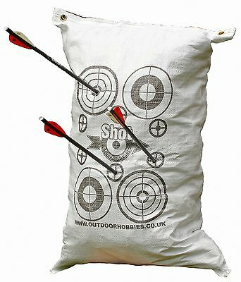 Archery Crossbow FILL YOURSELF Target SACK 45x60cm Stop Crossbow bolts at 10ft!