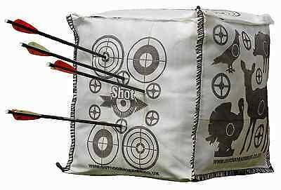 Archery Crossbow FILL YOURSELF Target CUBE 6 Side Stops Arrow at 10ft 50x50x50cm