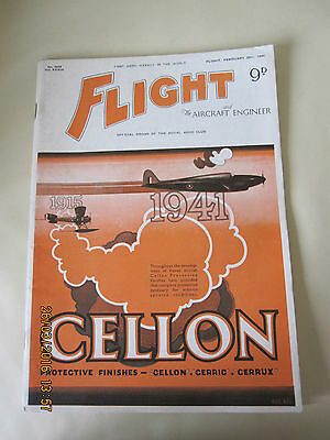 Vintage Flight And The Aircraft Engineer Magazine - February 20Th 1941