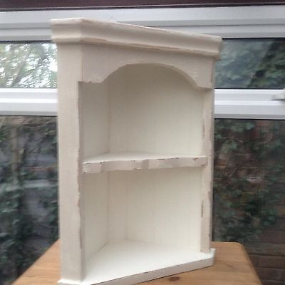 Antique Old Pine Corner Unit