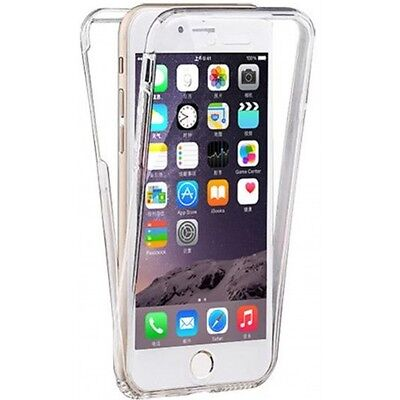 Shockproof 360° Silicone Protective Gel Case Cover Clear For Apple iPhone 6 6S