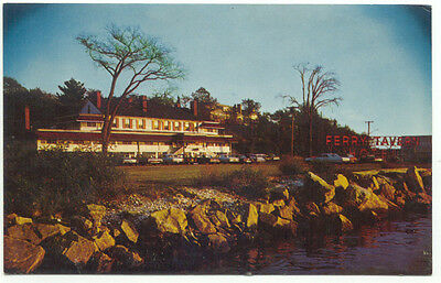 Old Lyme CT Ferry Tavern Hotel  Postcard  - Connecticut