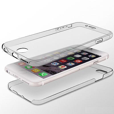 Shockproof 360° Silicone Protective Slim Gel Case Cover For Apple iPhone 5 5S SE