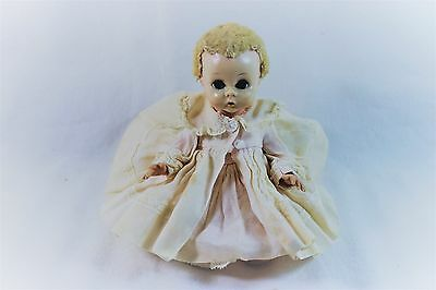 Madame Alexander Blonde Little Genius Baby Doll with Original Clothes