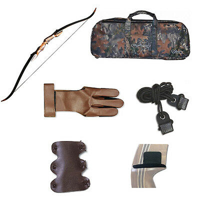 """Samick Sage Traditional Takedown 62"""" Recurve Bow Starter Package"""