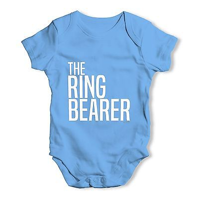 Twisted Envy The Ring Bearer Baby Unisex Funny Baby Grow Bodysuit