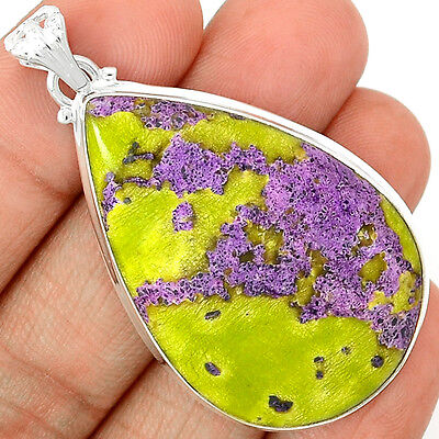 Atlantisite 925 Sterling Silver Pendant Jewelry STCP443