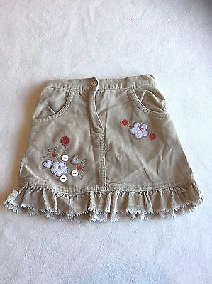 Baby Girls Clothes 9-12 Months - Pretty Cord Skirt -
