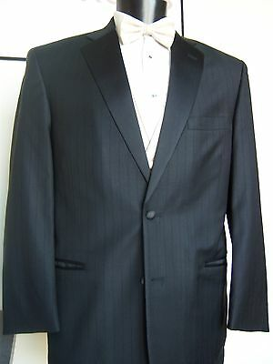 Black Perry Ellis Sterling Tuxedo Jacket with Pant Option - Multiple sizes