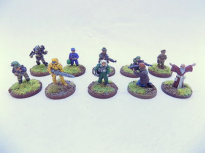 15mm Sci Fi ADVENTURERS / CHARACTERS x10 Superbly Painted Traveller 37245