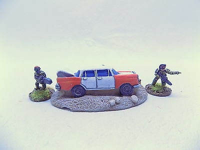 15mm Sci Fi WRECKED CAR Well painted 37288