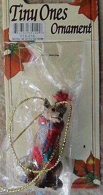 New Sealed- Tiny Ones Christmas Ornament - Australian Cattle Dog Brown - DTX-87A