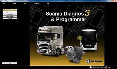 SCANIA SDP3 v2.27 DIAGNOSTIC SOFTWARE TRUCK AND BUS 2016