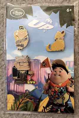 Disney Store UP Pin Pack~Carl, Doug, Russell