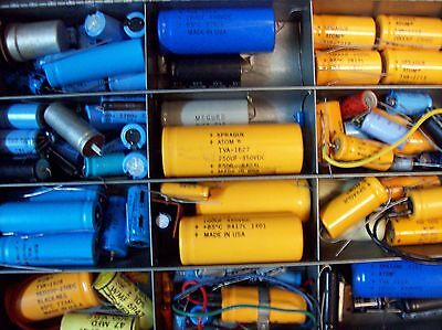 Over 45 Capacitors - NOS    -