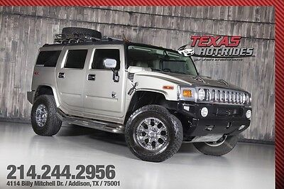 2003 Hummer H2 With Many Upgrades 2003 Silver With Many Upgrades!