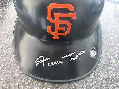 Willie Mays Mint Signed Full Size Giants Batting Helmet MLB & Say Hey Original