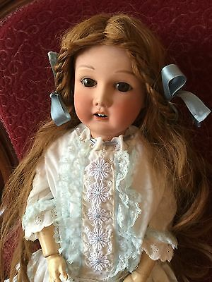 """Antique Doll Nippon Japan Bisque On A Comp Body 24"""""""