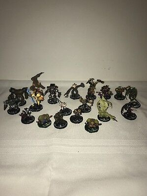 Mage Knight Lot Of Rare And Unique Figures