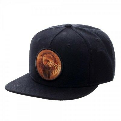 Fan Macusa Shield Black Snapback Cap  - BRAND NEW