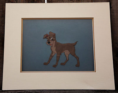 Lady and the Tramp Authentic Production Screen Used Disney Celluloid Cel Cell