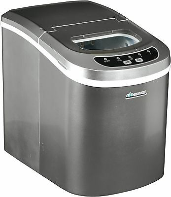 Avalon Bay AB-ICE26S Portable Ice Maker,Silver(Automatic overflow protectio) HVI