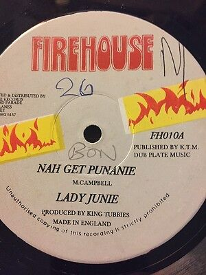 """Original Firehouse 12"""" X 2 King Tubby Production"""