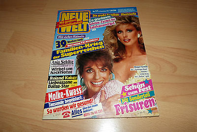 Neue Welt Nr.51/1987 TB Linda Gray u Morgan Fairchild,Mary Roos,Bee Gees