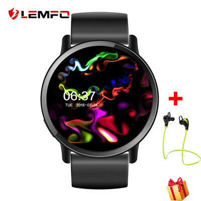 Lemfo LEM5 Deporte Bluetooth Wireless SIM GPS Reloj Inteligente Para IOS Android